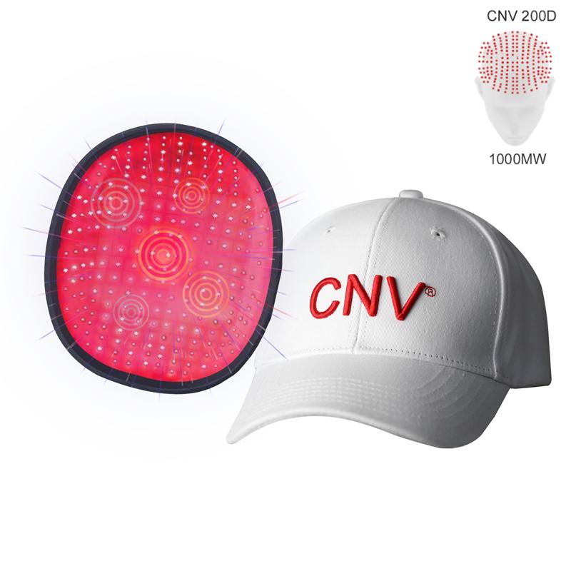 Blanc CNV 200 Lasers De Qualité Médicale Casque Repousse Laser Cheveux Pour Hommes Et Femmes Traitement Perte De Cheveux